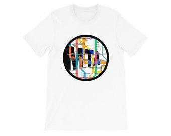 Nyc Subway Map T Shirts.Subway Map Shirt Etsy