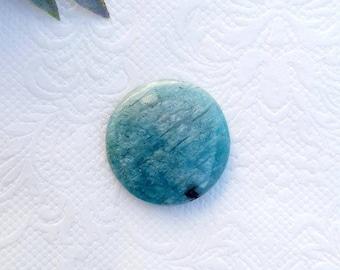 Oval Stone for jewelry making Cabochon lot stones for macrame AZ28.2 Amazonite gemstone Amazonite stone