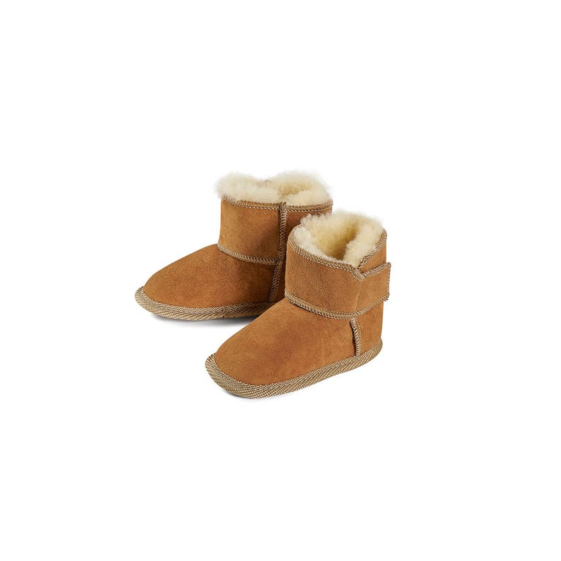 Kids babies Leather & Sheepskin Boots Slippers for Kids and image 0