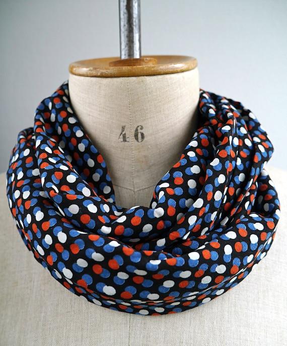 Écharpe tour de cou femme foulard tissu viscose écharpe   Etsy f21b4a34398
