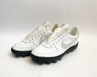 competitive price 3dd26 130bb vintage nike shark football cleats shoes big kids size 6.5 deadstock NIB  1983