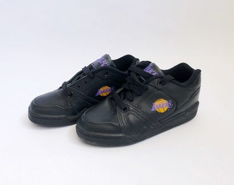 e14e85d334ef vintage converse ox los angeles lakers sneakers little kids size 11.5  deadstock NIB 90s