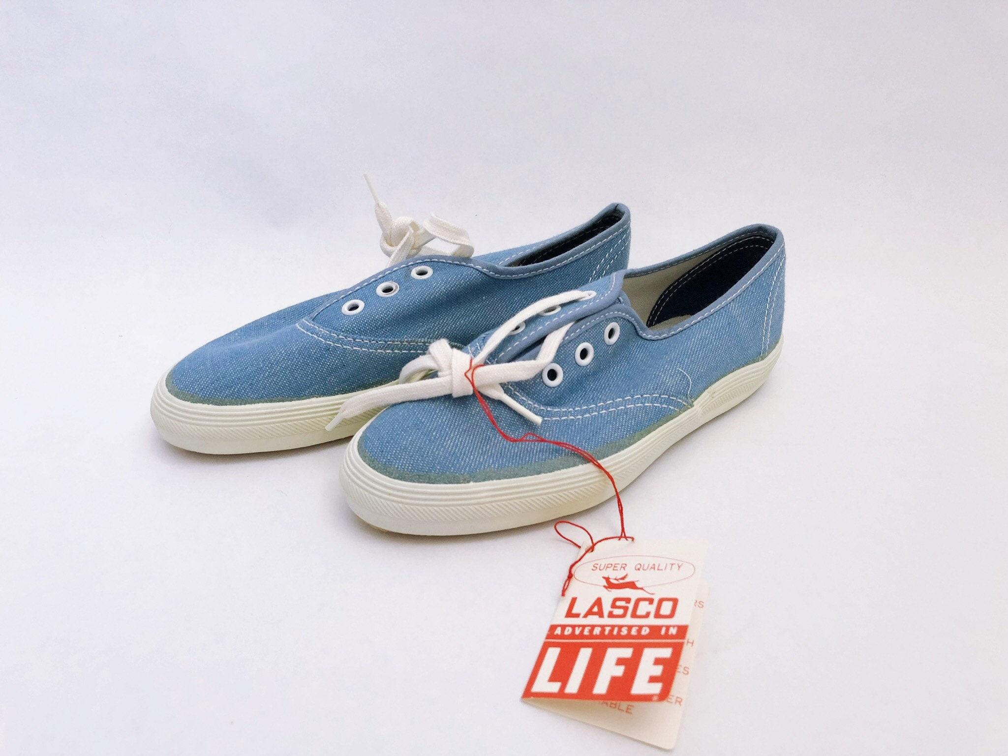 Childrens Sneaker Lasco Tennis Shoe Size 10 Deadstock Nib 70s Etsy
