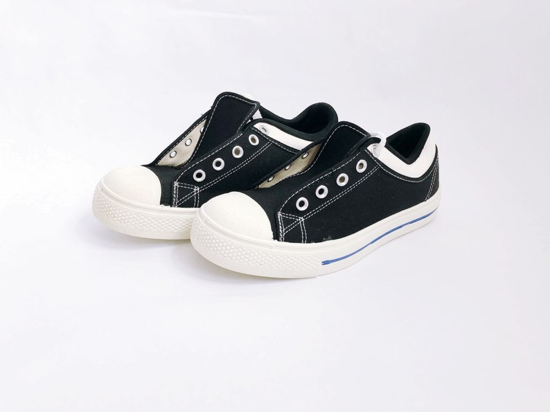69329abff5f75 vintage kids NOS canvas sneakers kids size 4.5 tiffs tennis shoes 1970s  made in USA