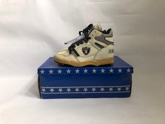 vintage raiders eastport by starter sneakers big kids size 5 deadstock NIB 90s