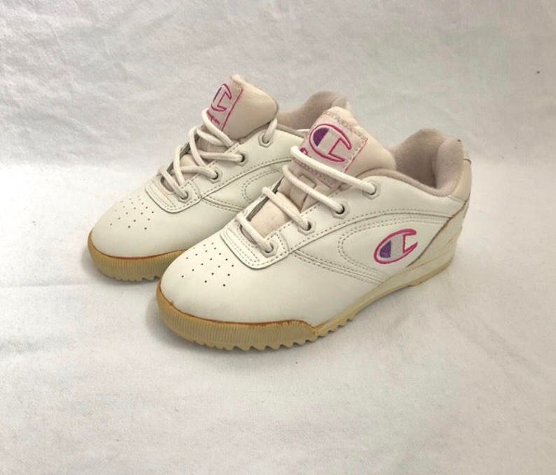 0b79d05abd7 Vintage champion sneakers little girl s size 3 deadstock