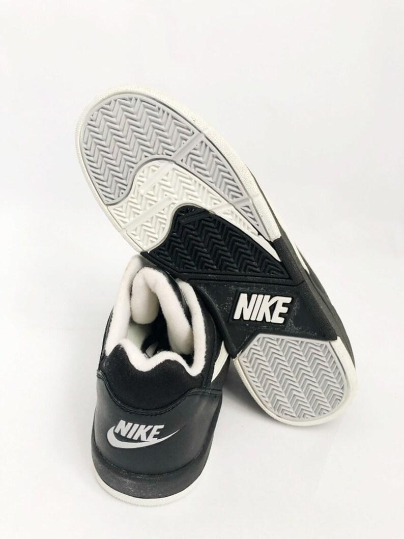 0b0b9c0162350 vintage nike court force low basketball sneakers shoes big kids size 5.5  deadstock NIB 1991
