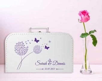 Gästebücher Gästebuch zur Hochzeit HARDCOVER Glitzer Schmetterlinge Blumen A4