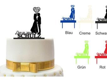 Personalized Cake Topper cake plug cake wedding cake design 2
