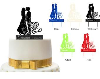 Personalized Cake Topper cake plug cake wedding cake scene 5
