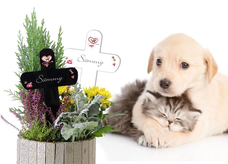 Grabkreuz Für Hunde Mit Knochen Und Napf Etsy