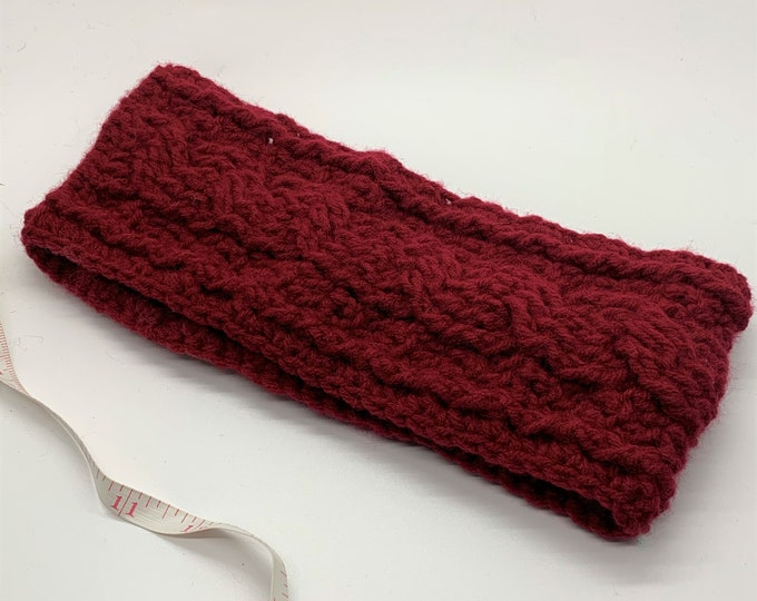 Twisted Cord Ear Warmer