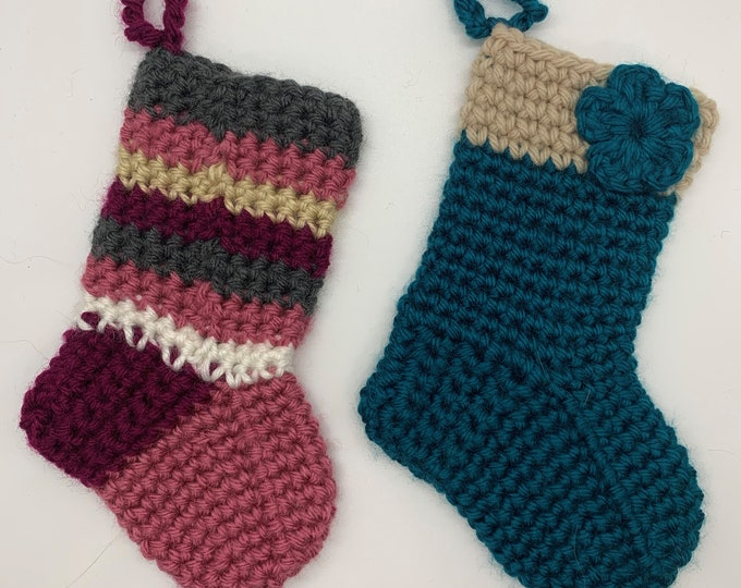 Baby stockings crochet