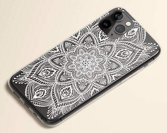 iPhone 12 Case, iPhone 11 Case, iPhone X Case, Clear Case, iPhone XR Case, iPhone 8 Case, iPhone 8 Plus Case, Galaxy Case, Mandala Art Case