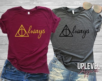 Harry Potter Shirt, Harry Potter Always, Always Shirt, TEE, Jumper, gift, fan, Bridesmaid, Bachelorette