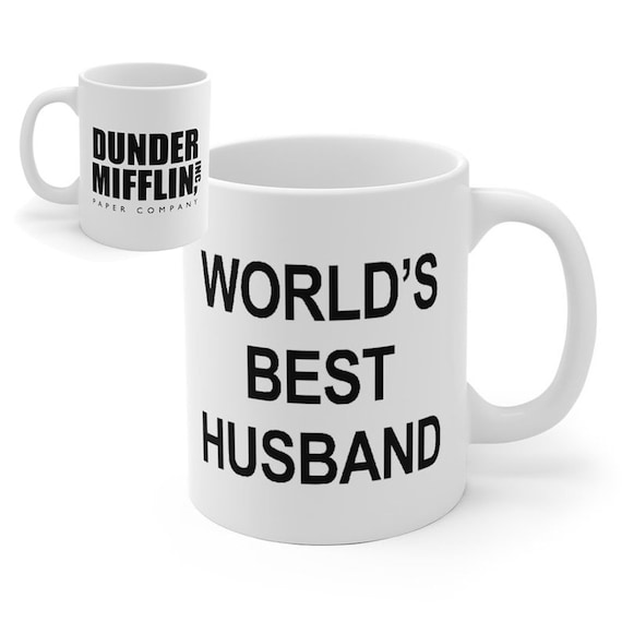 The Office Day Ideas Mug World's Gift Funny Best Coffee HusbandFather's UpqMVGSzL