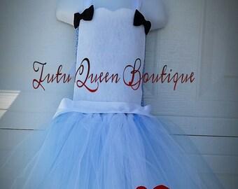 Alice In Wonderland Tutu Dress Halloween Birthday Dress