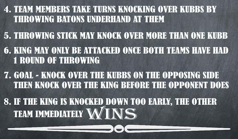 photo regarding Kubb Rules Printable titled Backyard garden Online games, Kubb Viking Chess Indicator, Kubb Legal guidelines Directions, Out of doors Social gathering Game titles, Back garden Signs or symptoms, Marriage ceremony Property Game titles, Back garden Online games