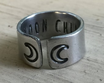 Moon Child Ring - Silver - Moon Child