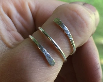 Midi Ring, Thumb or Knuckle Rings for Women - Daily Jewelry for Comfort - Crafted in Sterling Silver