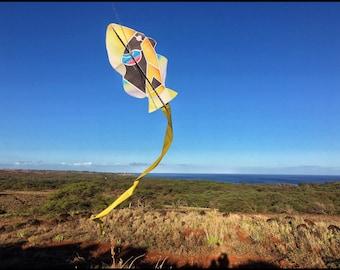 Humu Fish Paper Kite (humuhumunukunukuapaa) Instant Digital Download