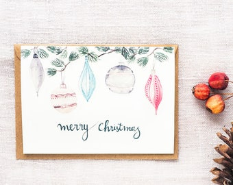 Folding card christmas card greeting santa nicholas etsy folding card christmas card greeting cheerful contemplative berry branch illustration watercolour art print mood feast holy feast day m4hsunfo