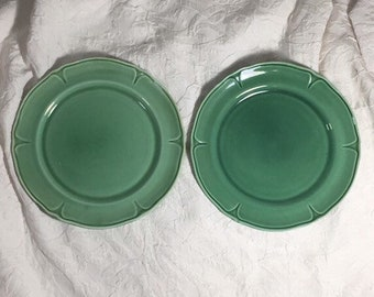 Green Plate Etsy