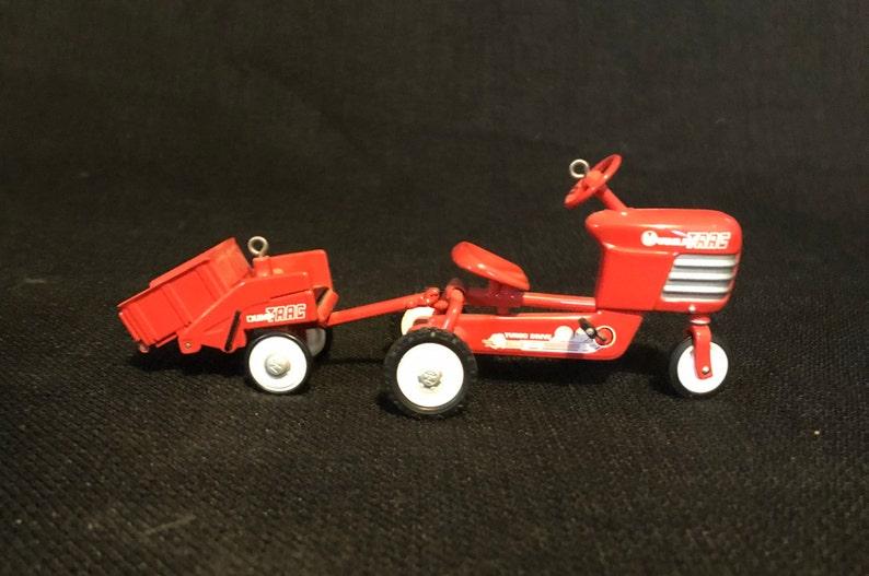 Vintage Hallmark 1955 Murray Tractor and Trailer 1998 Hallmark Kiddie Car Classic