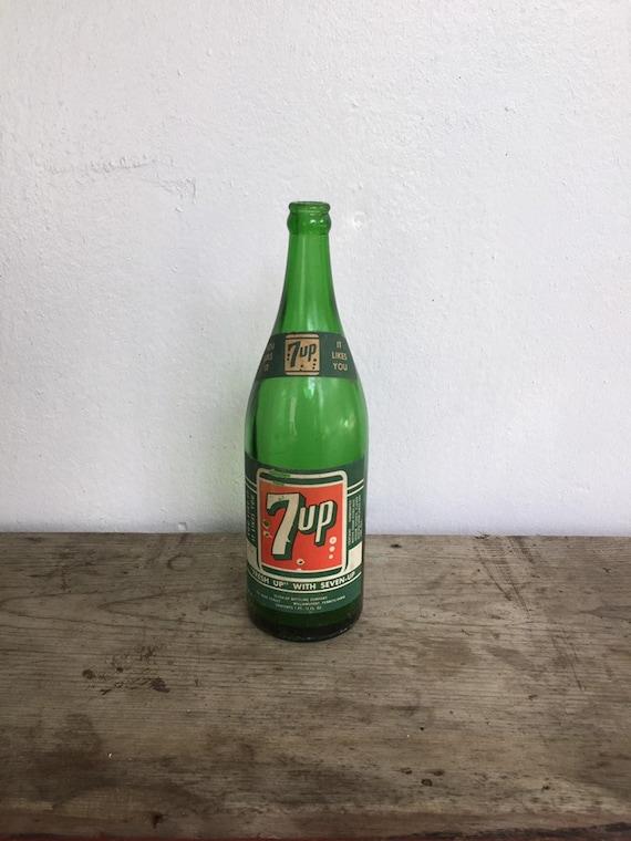 7up value vintage bottles Vintage 7Up