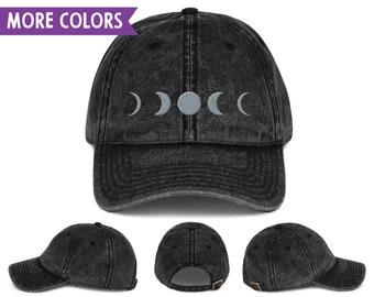 8ed6cb2cd6c Moon Phases Vintage Dad Hat Set - Adjustable
