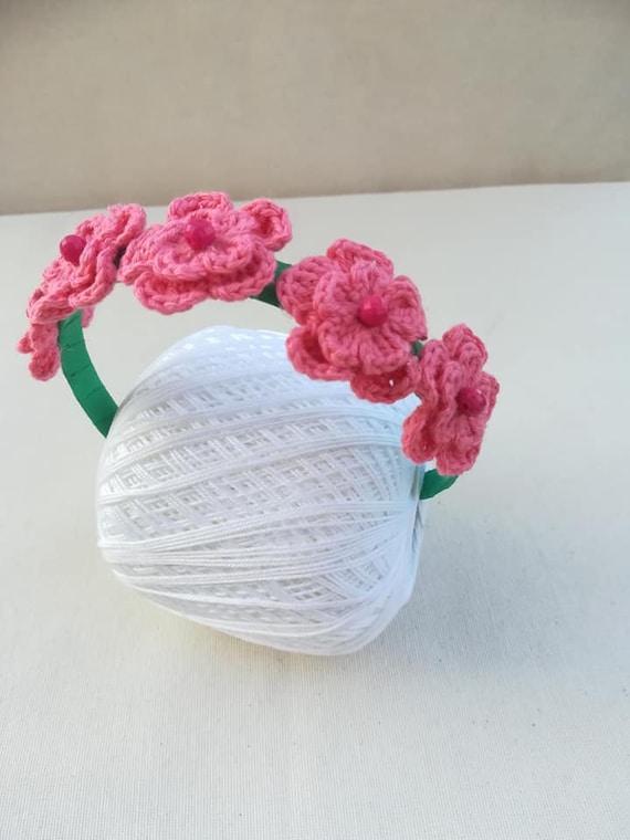 buon servizio nuovi oggetti diventa nuovo Cerchietto per capelli con fiori corallo