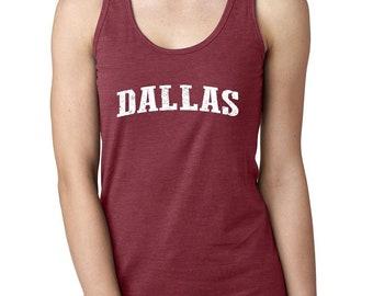 Texas State Flag Proud Texan Dallas Traveler s Gift Women s Racerback Tank  Top 98549ad27