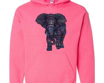 99649059c868f Amazing Elephant Matching Couples Gift for Birthday Christmas Party Unisex Hoodie  Sweatshirt