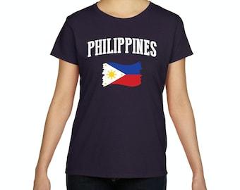 10f6288c Philippines Women Shirts T-Shirt Tee