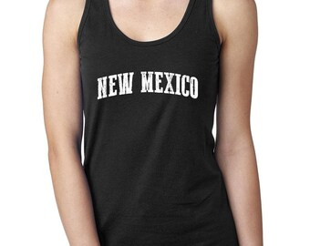 23ef9be8727dcf New Mexico State Flag Traveler Gift Women s Racerback Tank Top