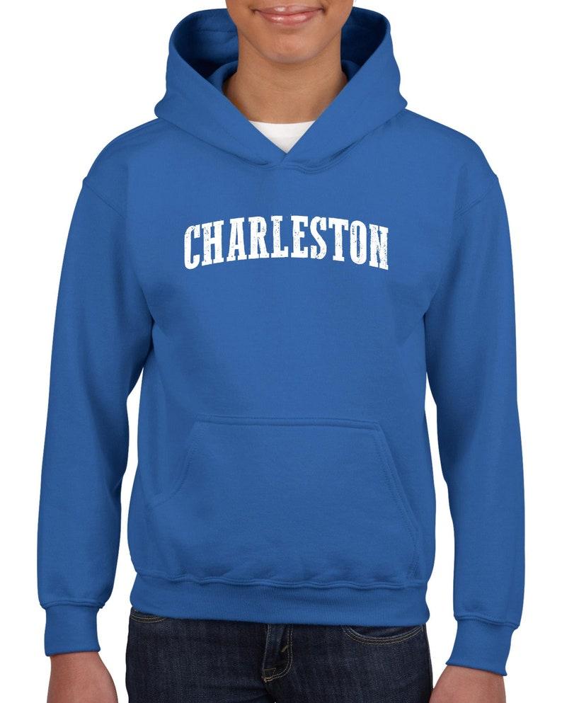 South Carolina Charleston Traveler Gift Unisex Hoodie For Girls and Boys Youth Sweatshirt