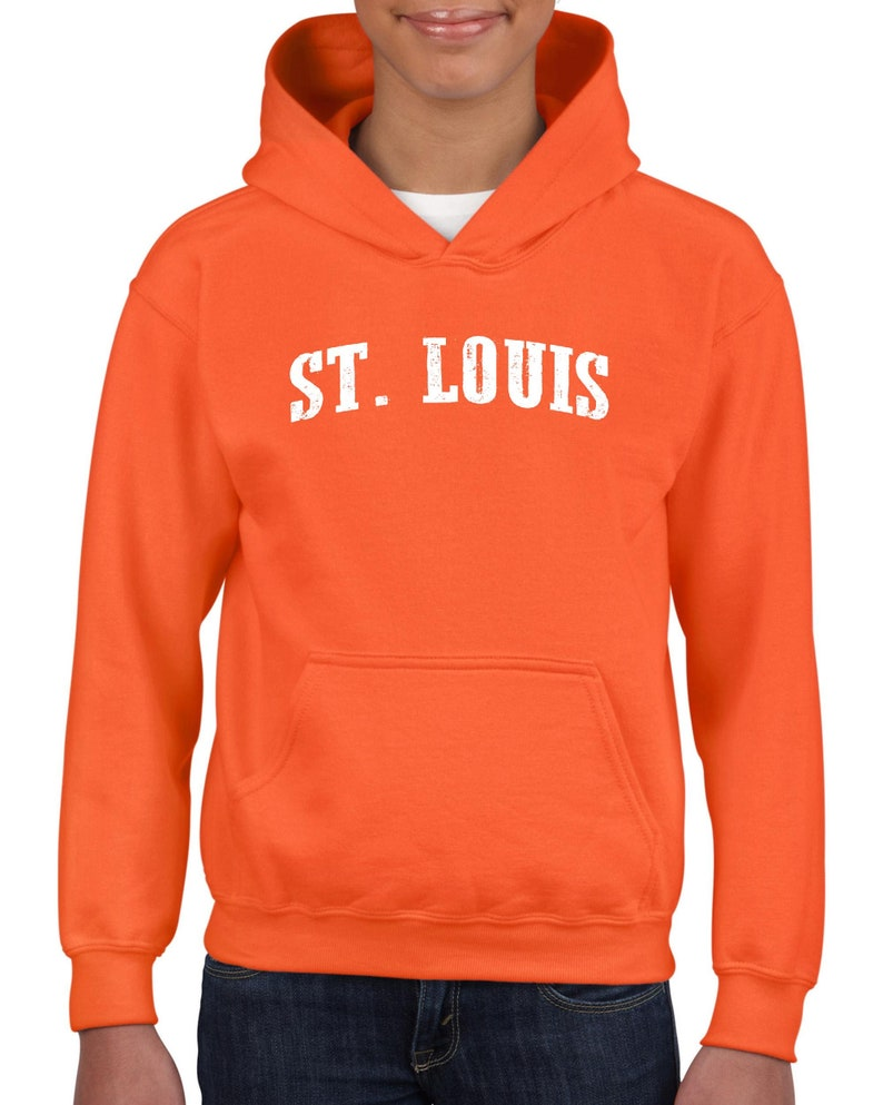 Louis Jefferson Kansas Unisex Hoodie For Girls and Boys Youth Sweatshirt Missouri State Flag Home of St