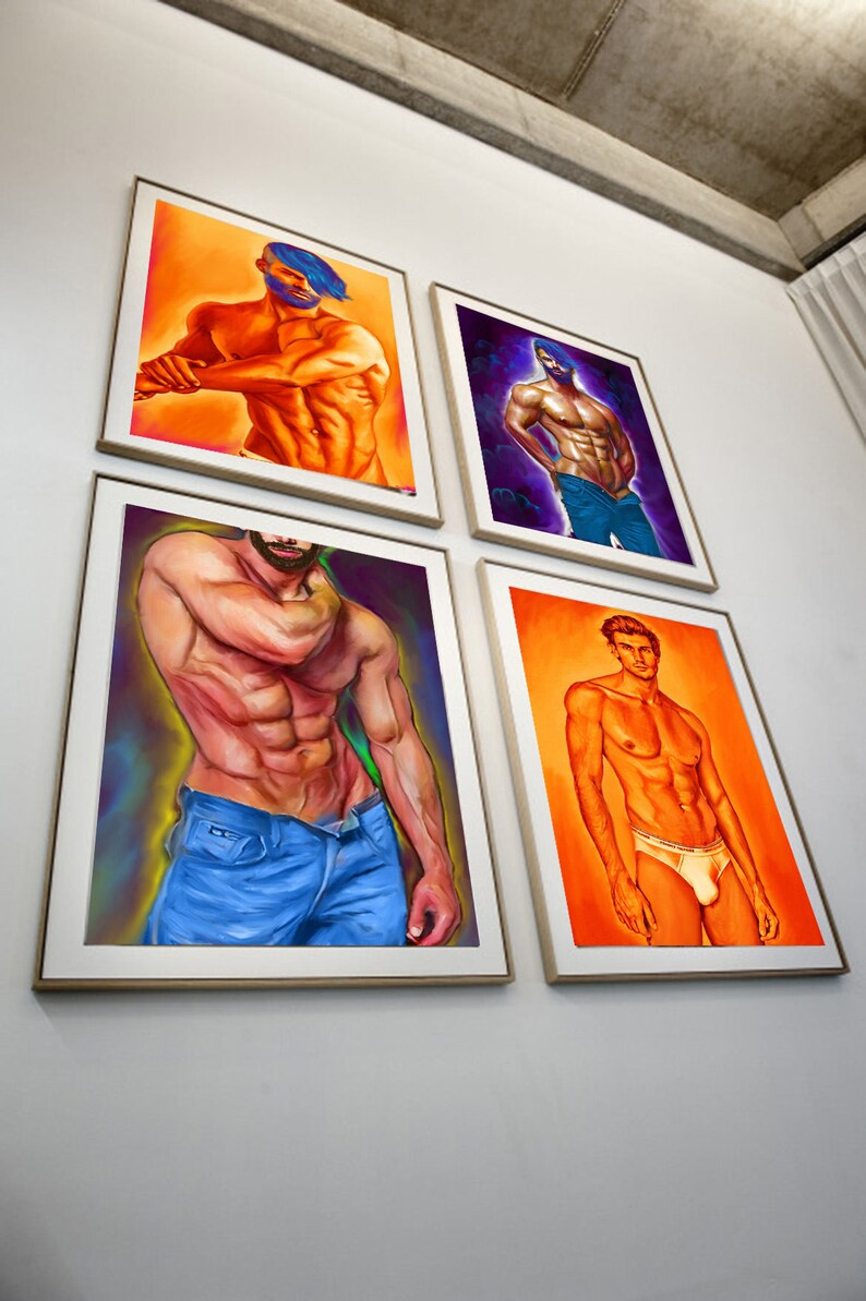 Gay fine art gallery