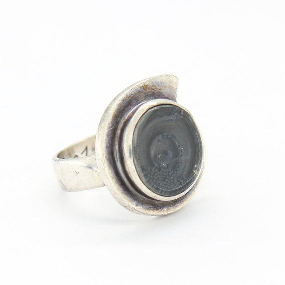 Vintage Silver statement ring, Vintage silver mode