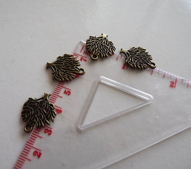 Tree Pendants C171 Antiqued Bronze Charms The Tree of Life Necklace Pendant Charms for Bracelet Life-Tree Charms Tree Charms