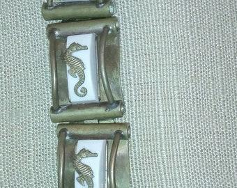 Seahorse collection signed Jean Paileve 1936 bracelet!