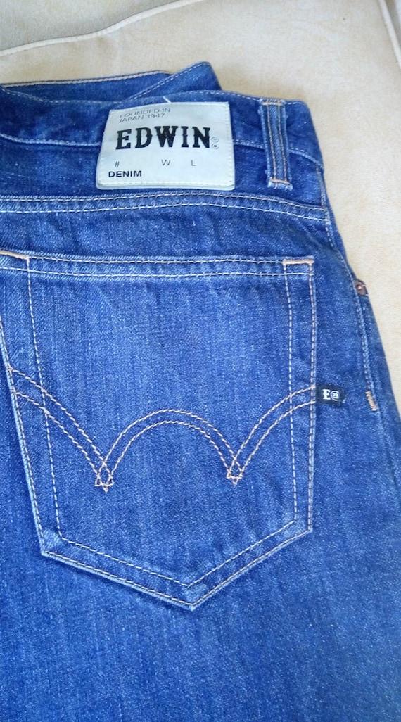Edwin jeans zipper