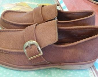Shoe leather mens deadstock.
