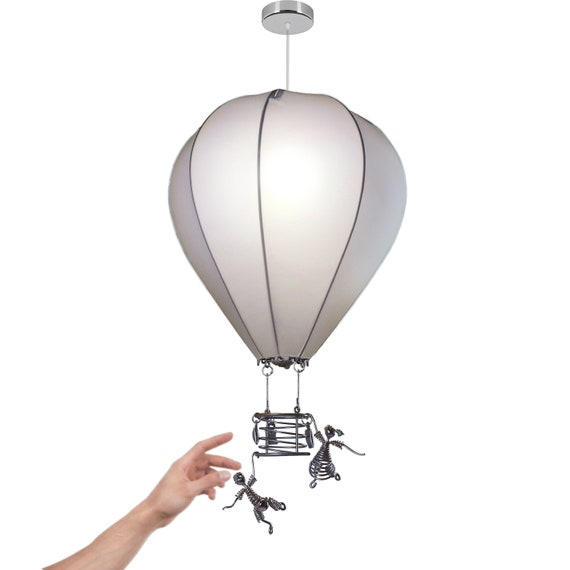 Hot Air Balloon Nursery Lamp Shade With, Hot Air Balloon Lampshade
