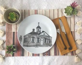 Colonial Williamsburg Custom Plate
