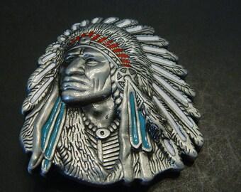 Boucle de ceinture métal American Indian Chief - boucles de ceinture en  métal de spécialité - boucle de ceinture American Indian Chief - boucles de  ceinture ... 137675d8d02