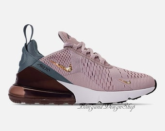 e543d2b977 Swarovski Bling Nike Women's Air Max 270 Shoes with Crystal Rhinestones  Custom Running Tennis Shoes Authentic New in Box, Nike Shoes