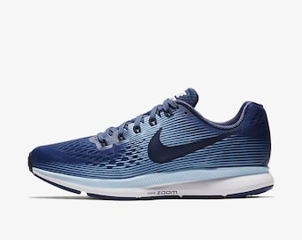Swarovski Blue Nike Shoes Women s Nike Air Zoom Pegasus 34 Shoe Customized  with Rhinestone Swarovski Crystals 80282685b