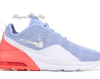 b8ce15d2e Swarovski Nike Bling Air Max Motion 2 Sneaker Custom with Swarovski Crystal  Rhinestones Bling Nike Shoes