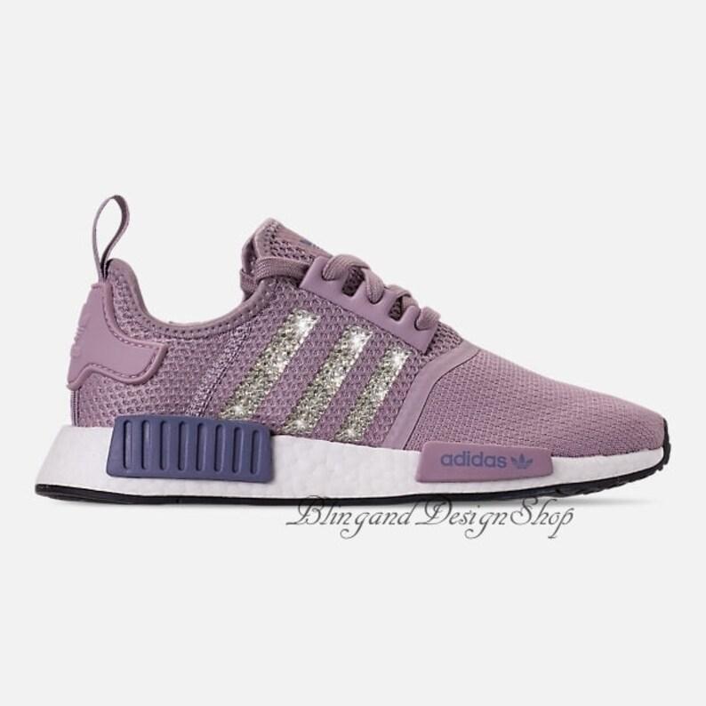 9622e108f3e7 Swarovski Bling Adidas Women s Adidas NMD R1 Casual Shoes